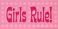 Girls Rule! Fine-Art Print