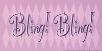 Bling! Bling! Framed Print