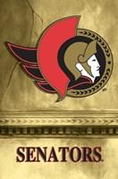 Senators - Logo 2 Wall Poster