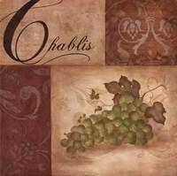Chablis Grapes Framed Print
