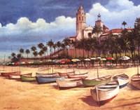 Boats on the Shore Fine-Art Print