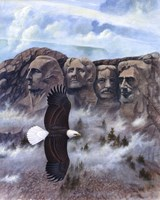 Eagle - Mount Rushmore Fine-Art Print