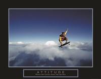 Attitude - Skateboarder Fine-Art Print