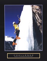 Challenge - Ice Climber Fine-Art Print