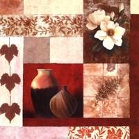 Vase Collage II Fine-Art Print