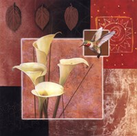 Calla Lily/Butterfly Fine-Art Print