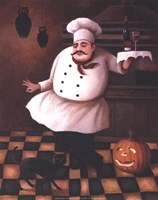 Halloween Chef II Fine-Art Print