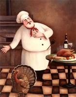 Turkey Chef I Fine-Art Print