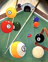 Billiards I Fine-Art Print