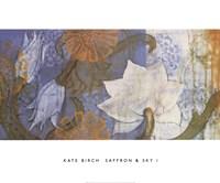 Saffron & Sky I Fine-Art Print