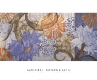 Saffron & Sky II Fine-Art Print