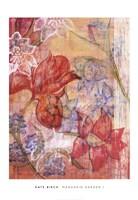 Mandarin Garden I Fine-Art Print