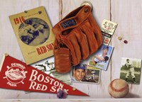 Vintage Red Sox Fine-Art Print