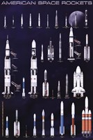 American Space Rockets Fine-Art Print