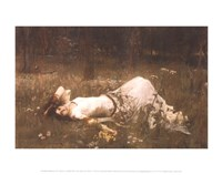 Ophelia (lying in the meadow), 1905 Fine-Art Print
