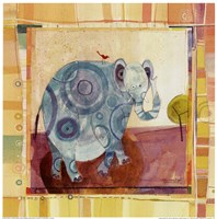 Playful Elephant Fine-Art Print