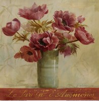 Jardin d'Anemones Fine-Art Print