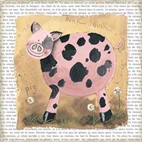 Spot the Pig Fine-Art Print
