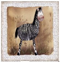 Zebra on Safari Fine-Art Print