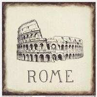 Rome Tile Fine-Art Print