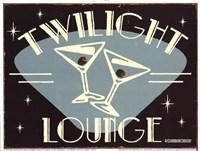 Twilight Lounge Fine-Art Print