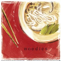 Soba Noodles Fine-Art Print