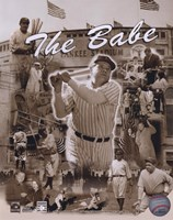 Babe Ruth - Legends Of The Game Composite Fine-Art Print