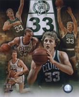 Larry Bird - Legends Of The Game Composite Fine-Art Print