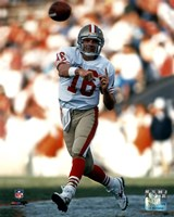 Joe Montana - passing Fine-Art Print
