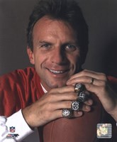 Joe Montana -4 Super Bowl Rings Fine-Art Print