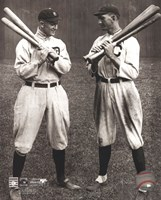 Ty Cobb and Shoeless Joe Jackson Fine-Art Print