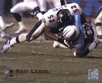 Ray Lewis - 2000 Defensive Player of the Year Fine-Art Print