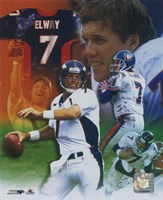 John Elway - Legends of the Game Composite Fine-Art Print