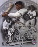 Jackie Robinson Legends Composite Fine-Art Print