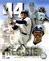 Reggie Jackson Legends Composite Fine-Art Print