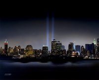 Towers of Light (NYC) - September 11 Tribute Fine-Art Print