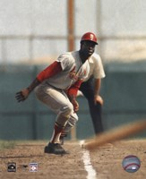 Lou Brock - On Base Fine-Art Print