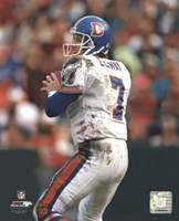 John Elway - Old Uniform Fine-Art Print