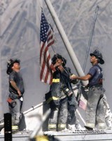 New York Firefighters / Ground Zero Fine-Art Print