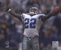Emmitt Smith - All-Time Rushing Yard Leader - #2 Celebration Fine-Art Print