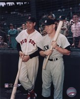 Ted Williams / Mickey Mantle Fine-Art Print