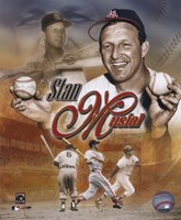 Stan Musial - Legends Composite Fine-Art Print