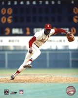 Bob Gibson - Pitching Action On The Field Fine-Art Print