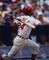 Tony Perez - Batting Fine-Art Print