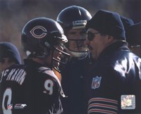 Jim McMahon / Mike Ditka Fine-Art Print