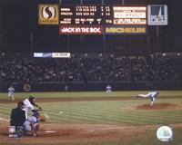 Nolan Ryan - 6th No Hitter (Last Pitch) Fine-Art Print