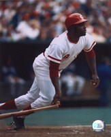 Joe Morgan - Batting Fine-Art Print