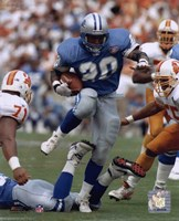 Barry Sanders - Action Fine-Art Print