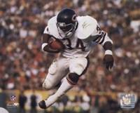 Walter Payton - Airbound Fine-Art Print