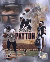 "Walter Payton ""Legends"" Composite Fine-Art Print"
